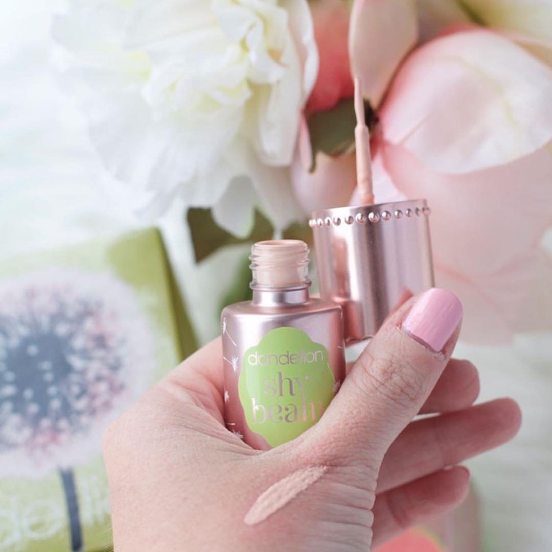 Pretty in pink highlighter for a naturally radiant look